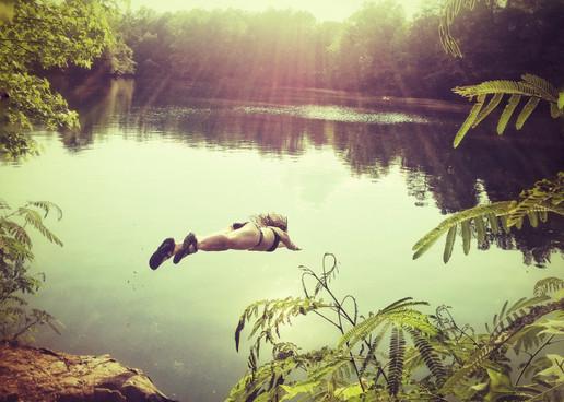 Dive // Eno River State Park, NC