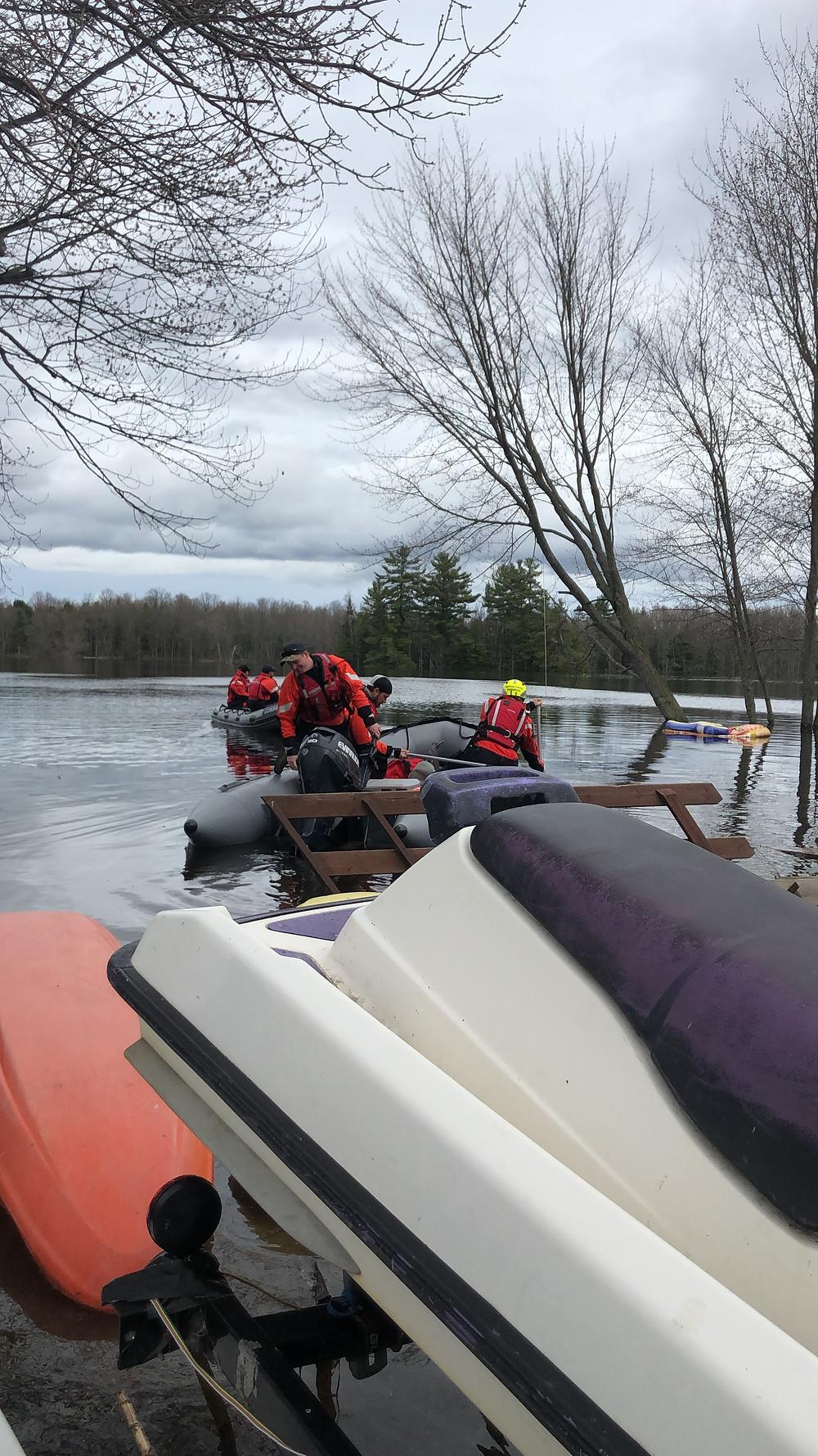 2019 Ottawa River Flood at Liquid SKills Kayak & SUP School Ottawa River
