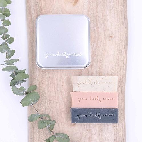 Travel Soap Stick+ Aluminium Tin