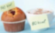 Petit déjeuner muffin et chocolat comptage calories