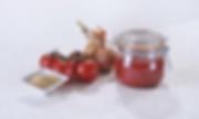 Sauce Ketchup et tomates