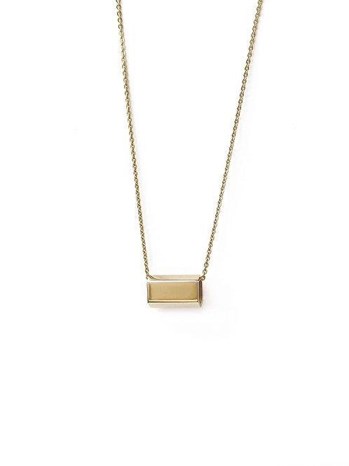 Plain Short Bar Necklace