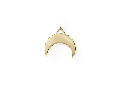 Plain Moon Pendant