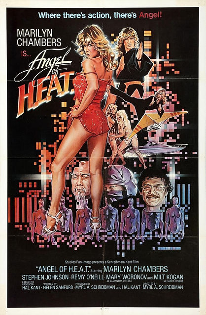 Marilyn Chambers in Angel of H.E.A.T., 1983