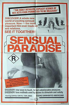 British poster for Sensual Paradise (aka Together) starring Marilyn Chambers