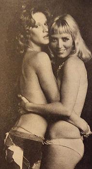 Xaviera Hollander and Marilyn Chambers, People magazine, 1976