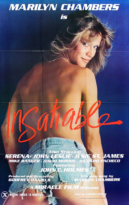 One-sheet poster for Insatiable starring Marilyn Chambers