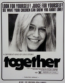 Ad material from the pressbook of Together starring Marilyn Chambers