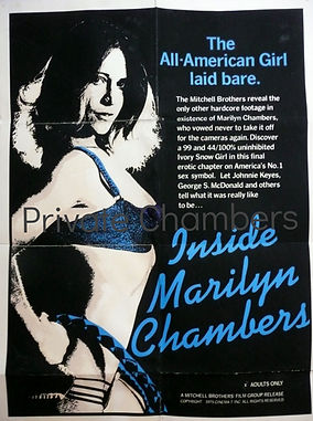 Inside Marilyn Chambers poster, 1975