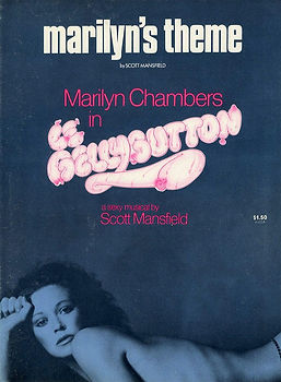 "Sheet music for ""Marilyn's Theme"" from Le Bellybutton starring Marilyn Chambers"