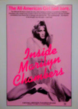 """One-sheet poster for the documentary """"Inside Marilyn Chambers"""" (1975)"""