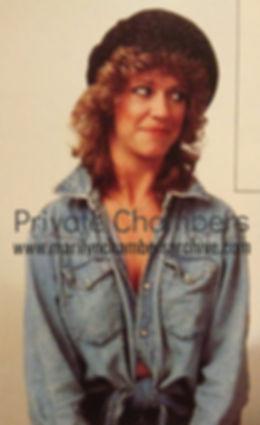 Marilyn Chambers in California Living magazine, 1985