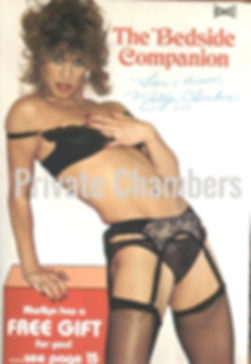 Marilyn Chambers' The Bedside Companion adult toy catalog, 1980