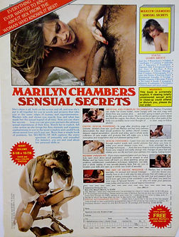 Advertisement for Sensual Secrets by Marilyn Chambers