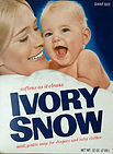 Marilyn Chambers on the cover of the Ivory Snow box, 1972