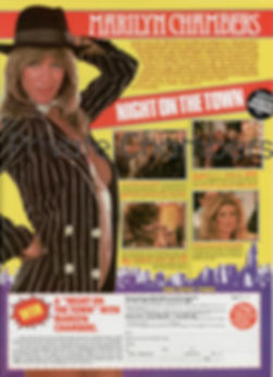 A Night on the Town starring Marilyn Chambers, 1982