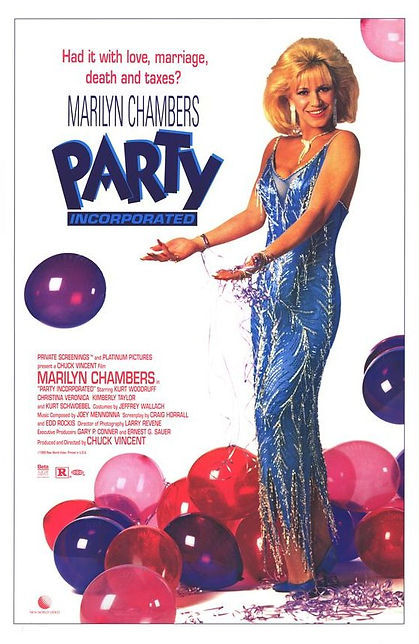 "Marilyn Chambers stars in ""Party Incorporated,"" 1990"