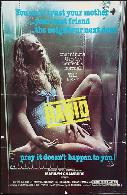 David Cronenberg's Rabid starring Marilyn Chambers, 1977