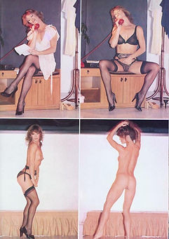 Club magazine feature promoting Sex Surrogate starring Marilyn Chambers, 1979