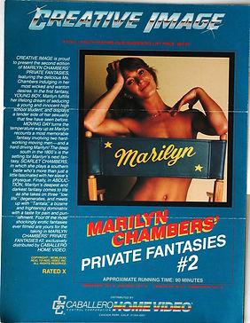 Advertising one sheet for Marilyn Chambers' Private Fantasies #2