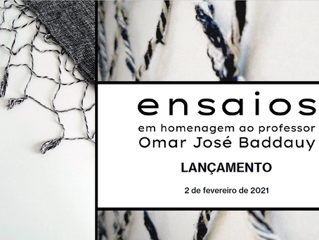 Lançamento - Ensaios em homenagem ao professor Omar José Baddauy