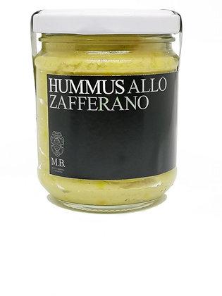 Hummus allo zafferano di Matteo Bertoli