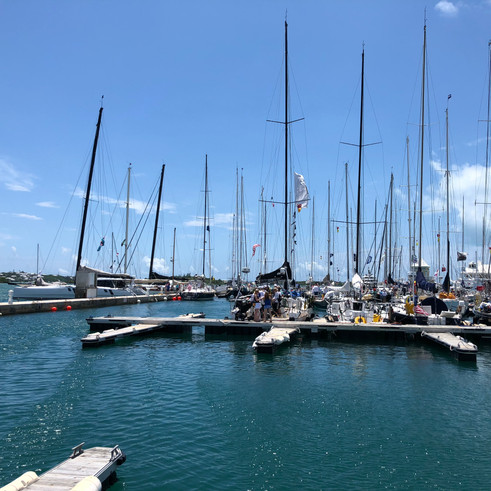 Newport to Bermuda Race 2018  (Gunboat, Arethusa)