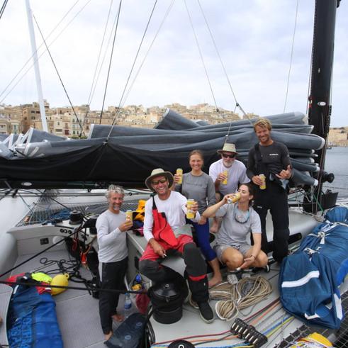 Rolex Middle Sea Race 2015 - Multihull Class winners!!