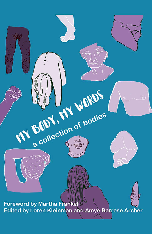 My Body My Words a collection of bodies