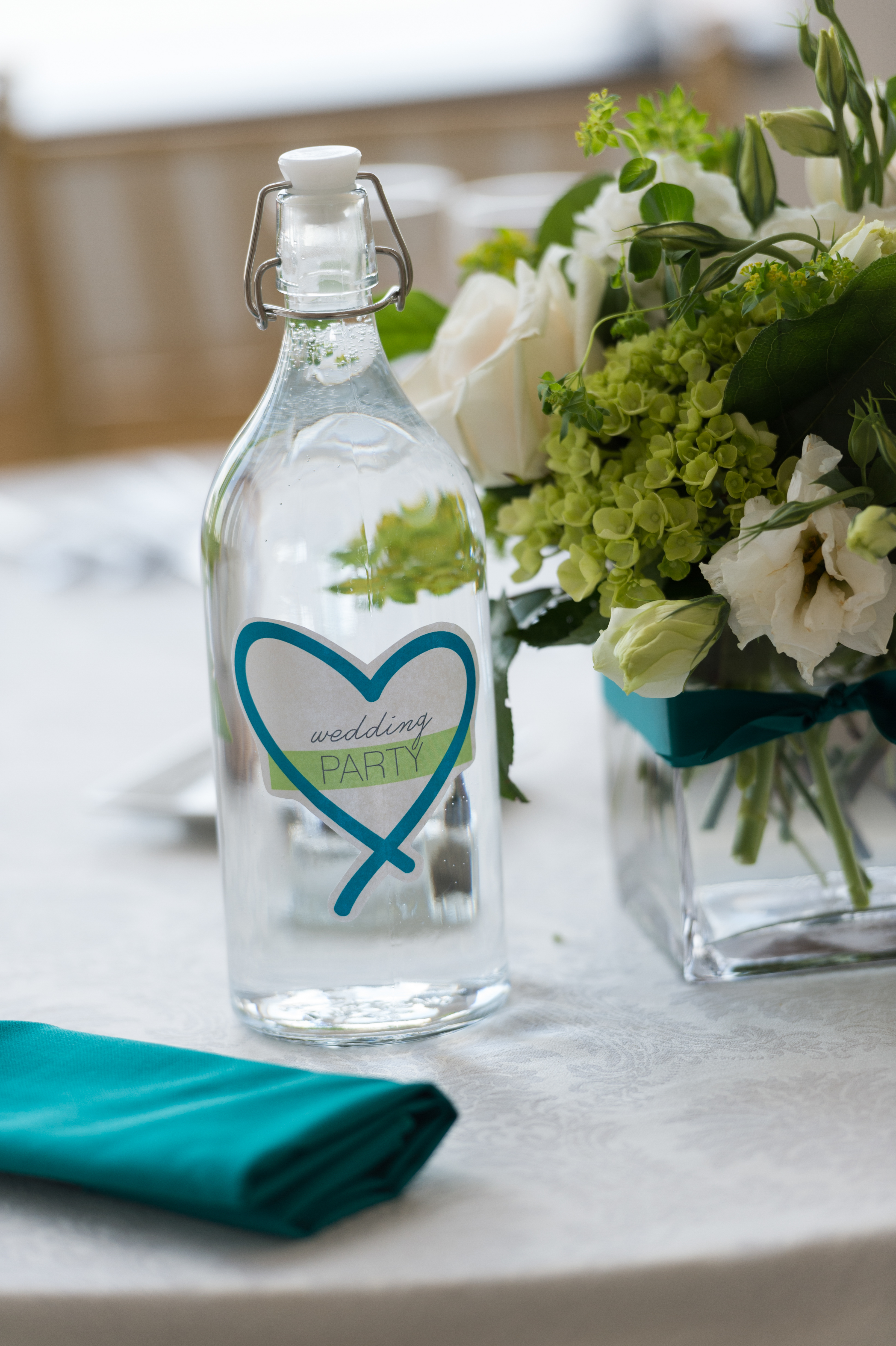 Reception Table Names and Numbers