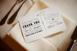 Wedding Favor Card