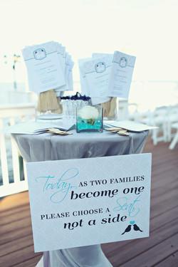 Ceremony Program & Sign