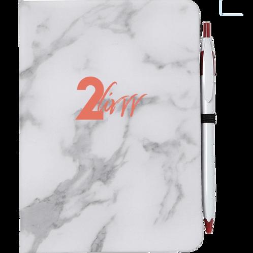 2Livvv Marble Notebook (Pre-Order)