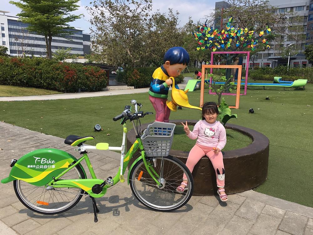 趴趴坐腳踏車兒童座椅