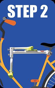 趴趴坐 PaPaSeat 腳踏車兒童座椅第二步