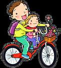 趴趴坐 PaPaSeat 腳踏車兒童座椅Logo