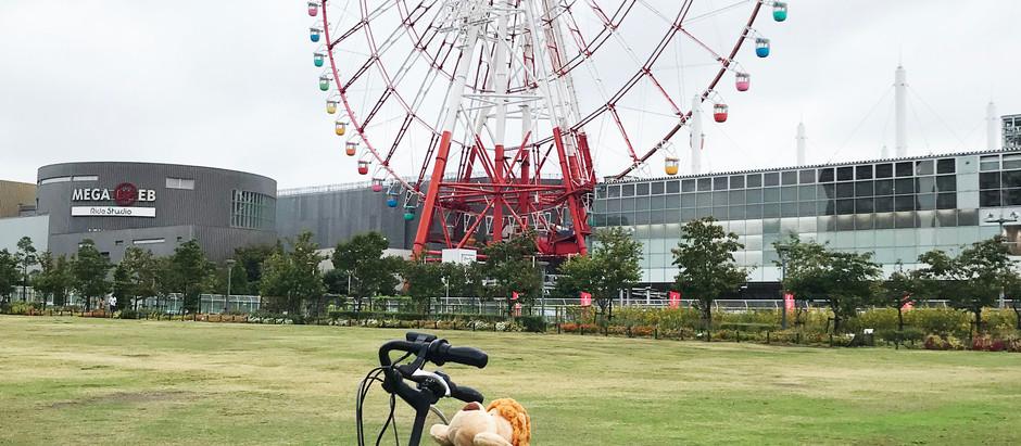 趴趴坐腳踏車兒童座椅到了日本東京