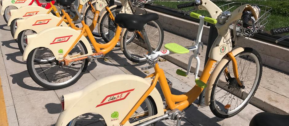 趴趴坐腳踏車兒童座椅到了意大利米蘭