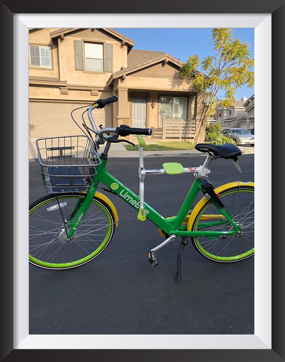 PaPaSeat child bike seat LimeBike