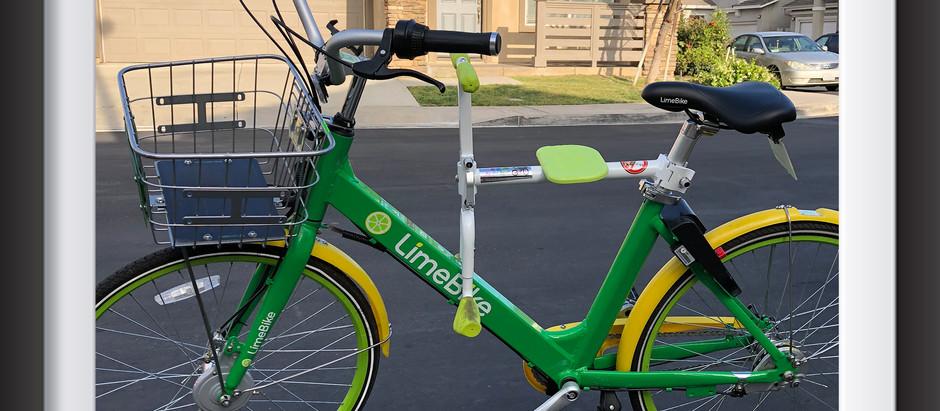 趴趴坐腳踏車兒童座椅 & 美國 LimeBike