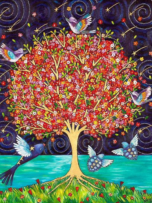 Limited Edition Print: The Love Tree
