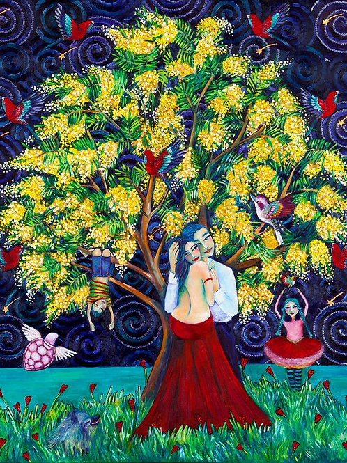 Limited Edition Print: The Wattle Tree