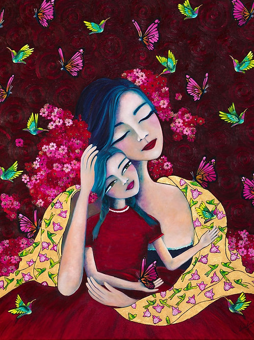 Limited Edition Print: Woman and Child