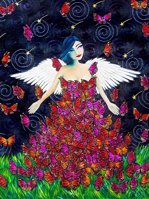 The Butterfly Angel Original Painting