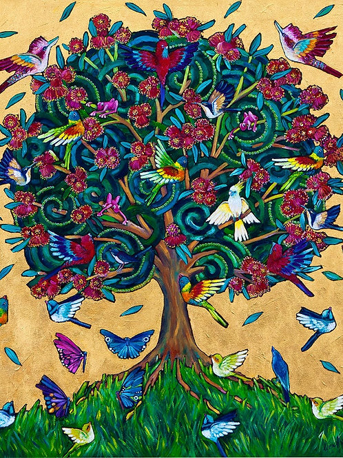 Limited Edition Print: The Happy Tree