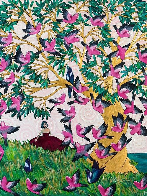 Original Painting: The Elders Tree
