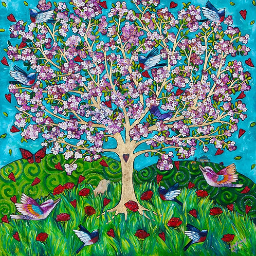 Limited Edition Print: The Blossom Tree