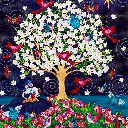 Limited Edition Print: The Magnolia Tree