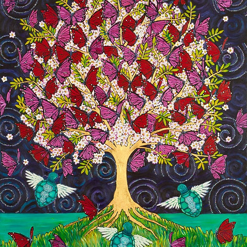 Limited Edition Print: The Butterfly Tree