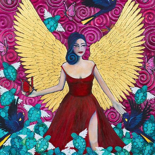 Limited Edition Print: Angel Warrior